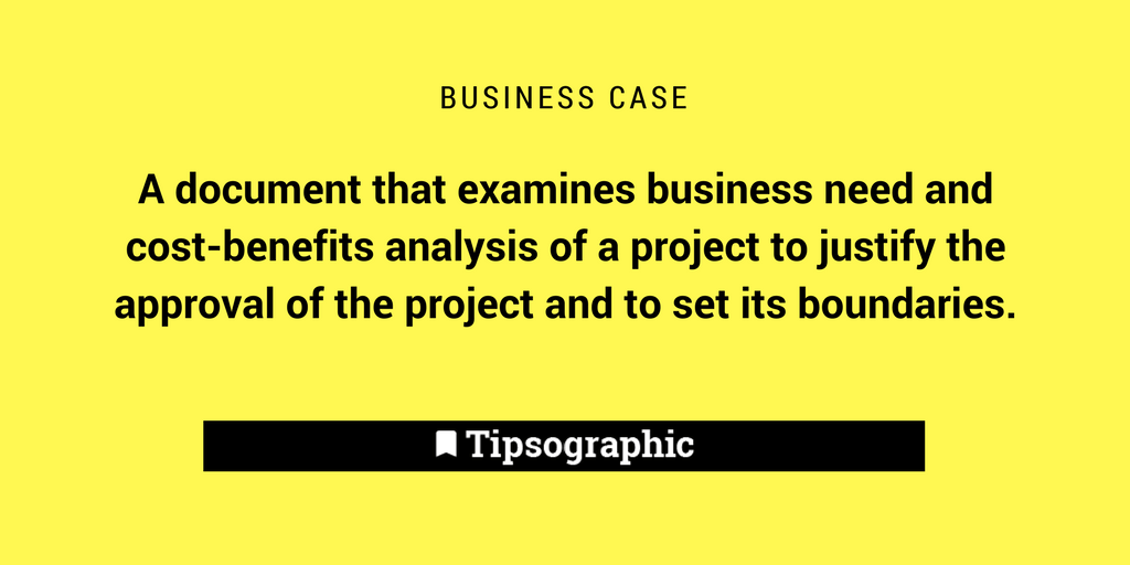 Image titled business case project management terms
