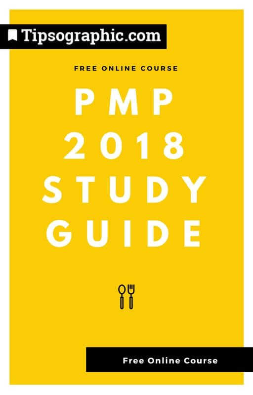 pmp 2018 study guide free online course tipsographic