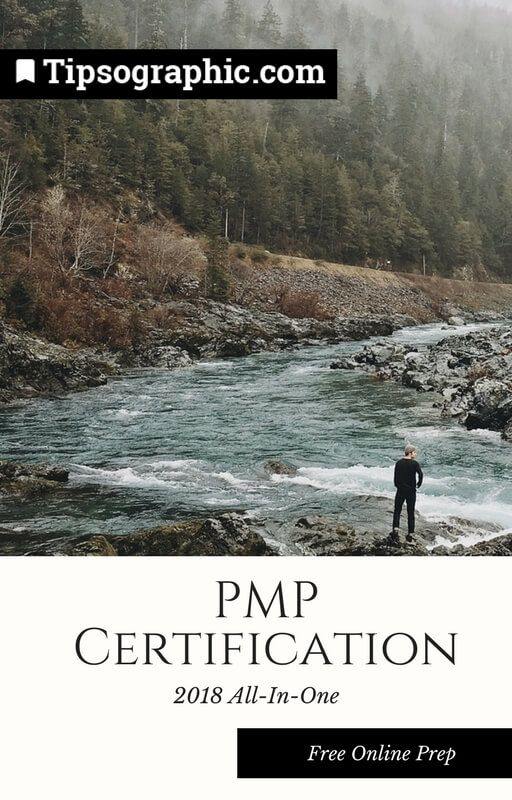 pmp certification 2018 all-in-one free online prep tipsographic