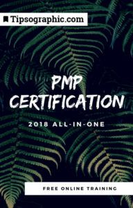 pmp certification 2018 all-in-one free online training tipsographic