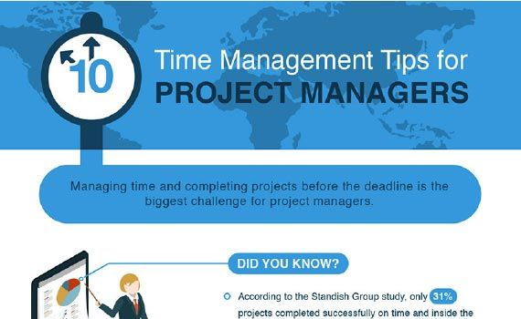 Thumbnail titled 10 time management tips for project managers