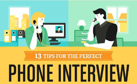 Thumbnail titled 13 tips for the perfect phone interview
