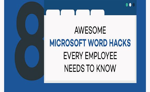 Thumbnail titled 8 awesome microsoft word hacks every employee needs to know