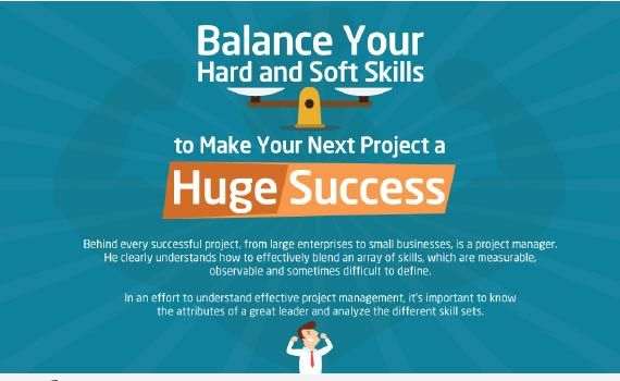 Thumbnail titled balance your hard and soft skills to make your next project a huge success