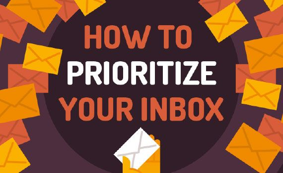 Thumbnail titled how to prioritize your inbox