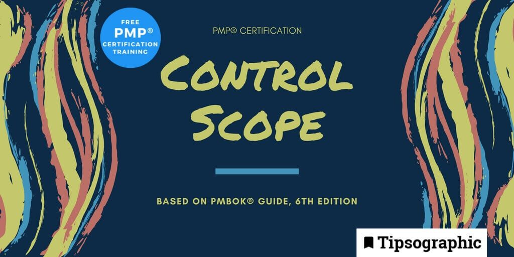 Image titled pmp certification control scope pmbok guide 6th edition