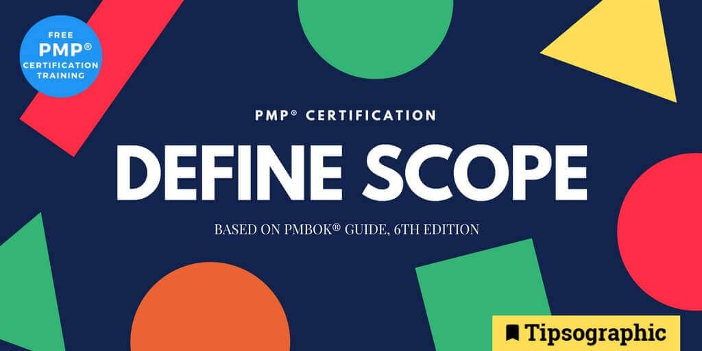Image titled pmp certification define scope pmbok guide 6th edition