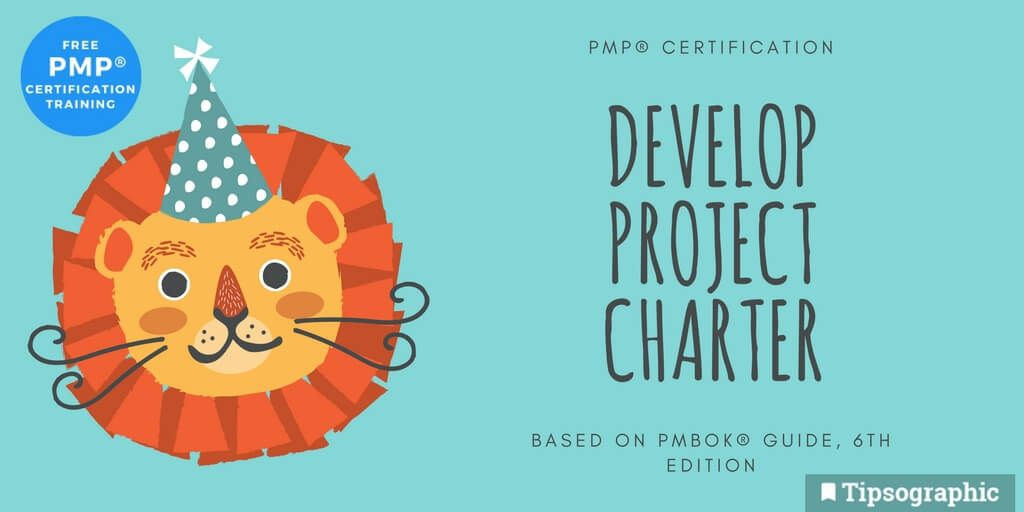 Image titled pmp certification develop project charter pmbok 6th edition