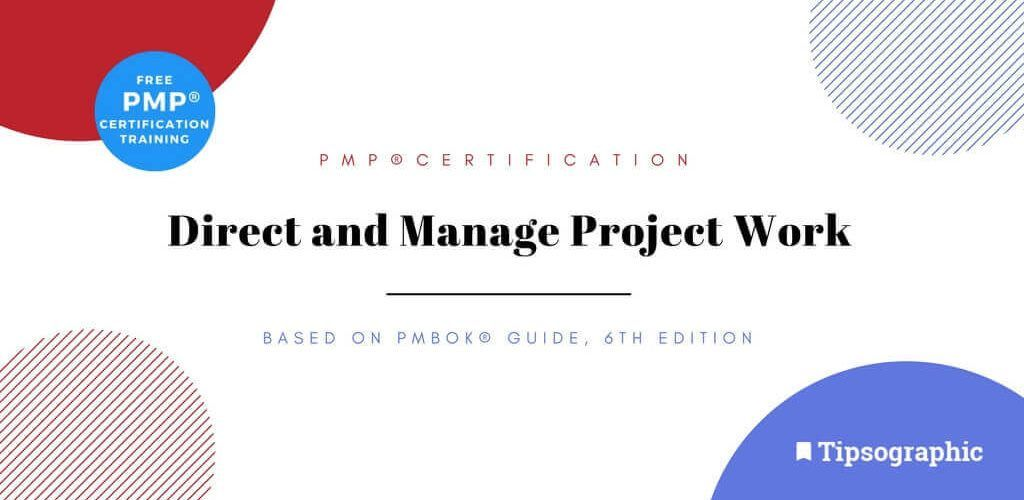 Thumbnail titled pmp certification direct and manage project work pmbok guide 6th edition