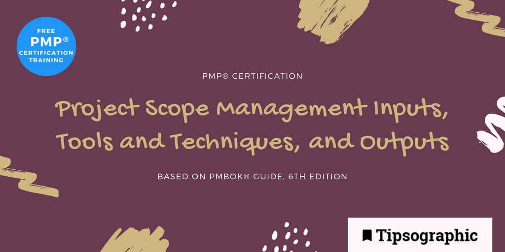 Image titled pmp certification inputs tools and techniques and outputs pmbok guide 6th edition