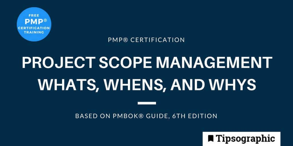 Image titled pmp certification project scope management whats whens whys pmbok guide 6th edition
