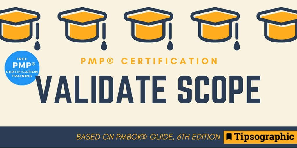 Image titled pmp certification validate scope pmbok guide 6th edition