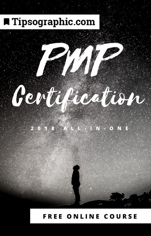 pmp certification 2018 all-in-one free online course tipsographic