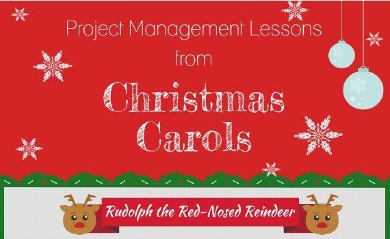 Thumbnail titled project management lessons from christmas carols