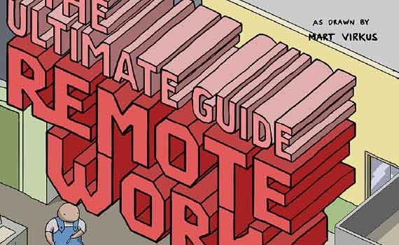 Thumbnail titled the ultimate guide to remote work