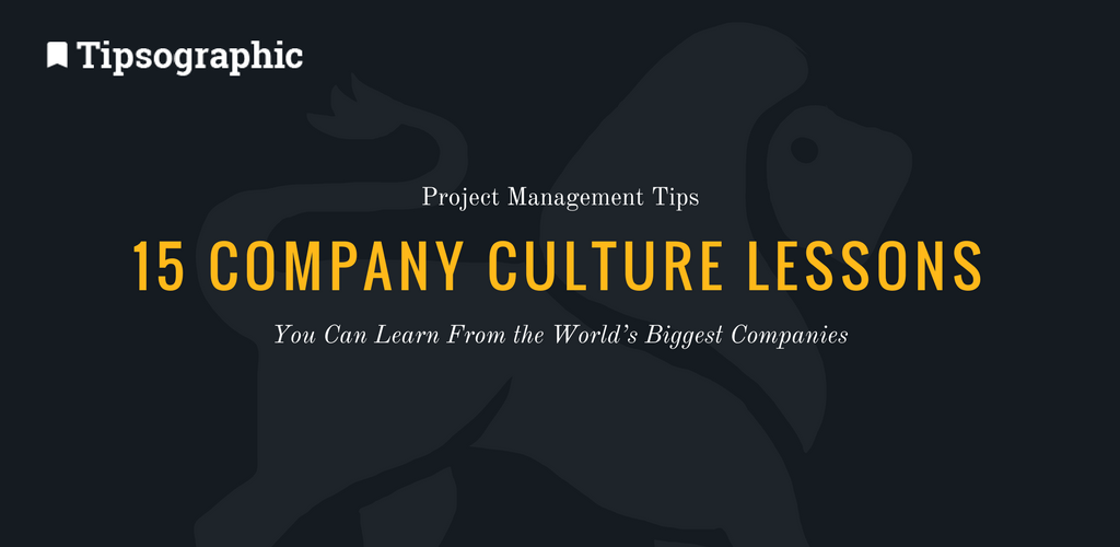 Thumbnail titled 15 company culture lessons you can learn from the world's biggest companies