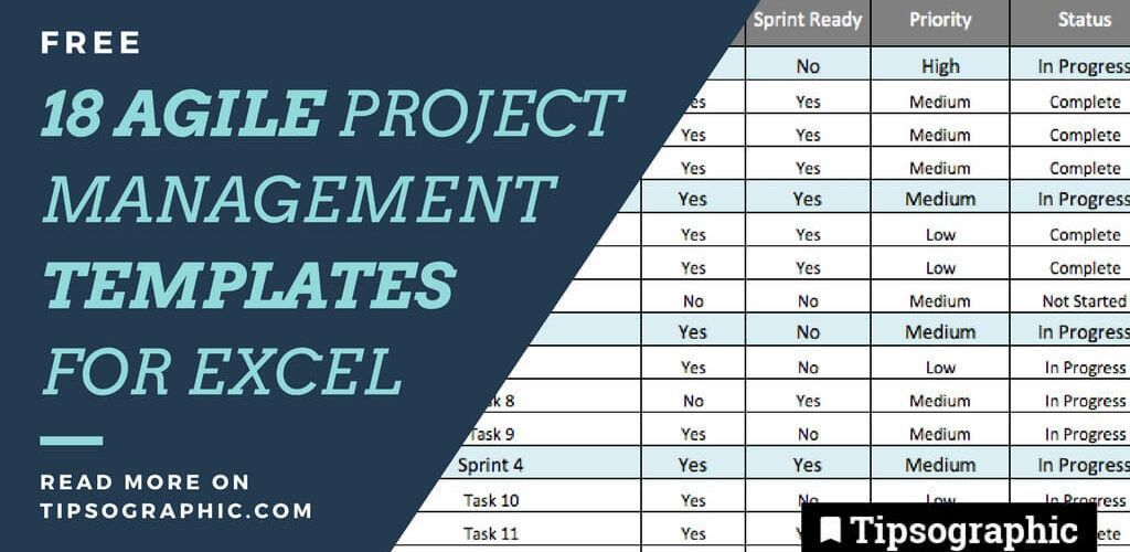 18 jackpot free agile project management excel templates free tipsographic main