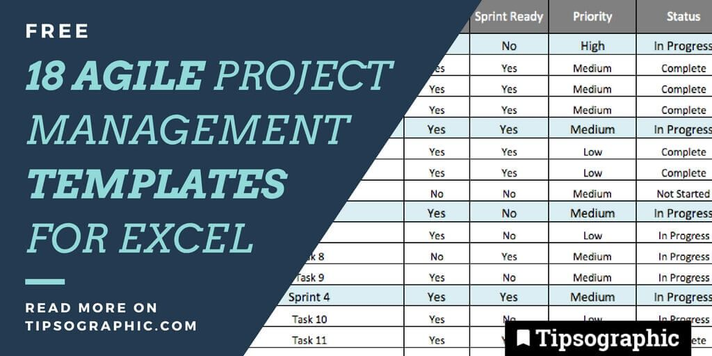 Jackpot Agile Project Management Templates For Excel Free