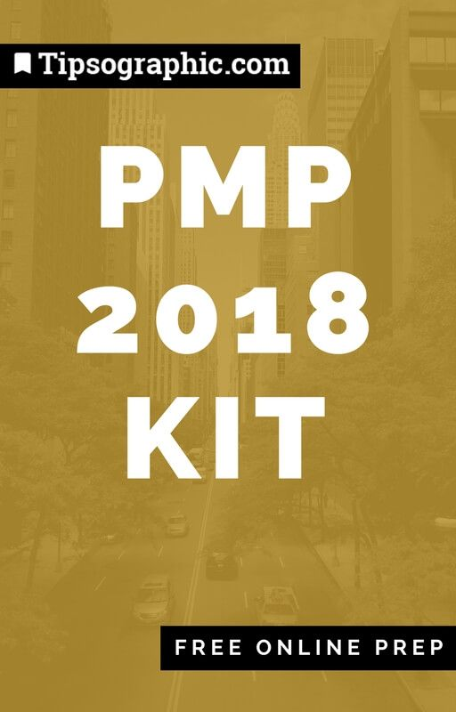 pmp 2018 kit free online prep tipsographic