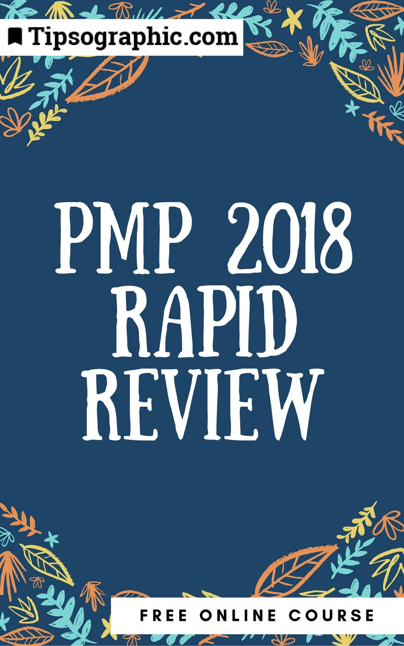 Pmp certification project risk management tips based on pmbok pmp 2018 rapid review free online course tipsographic xflitez Gallery