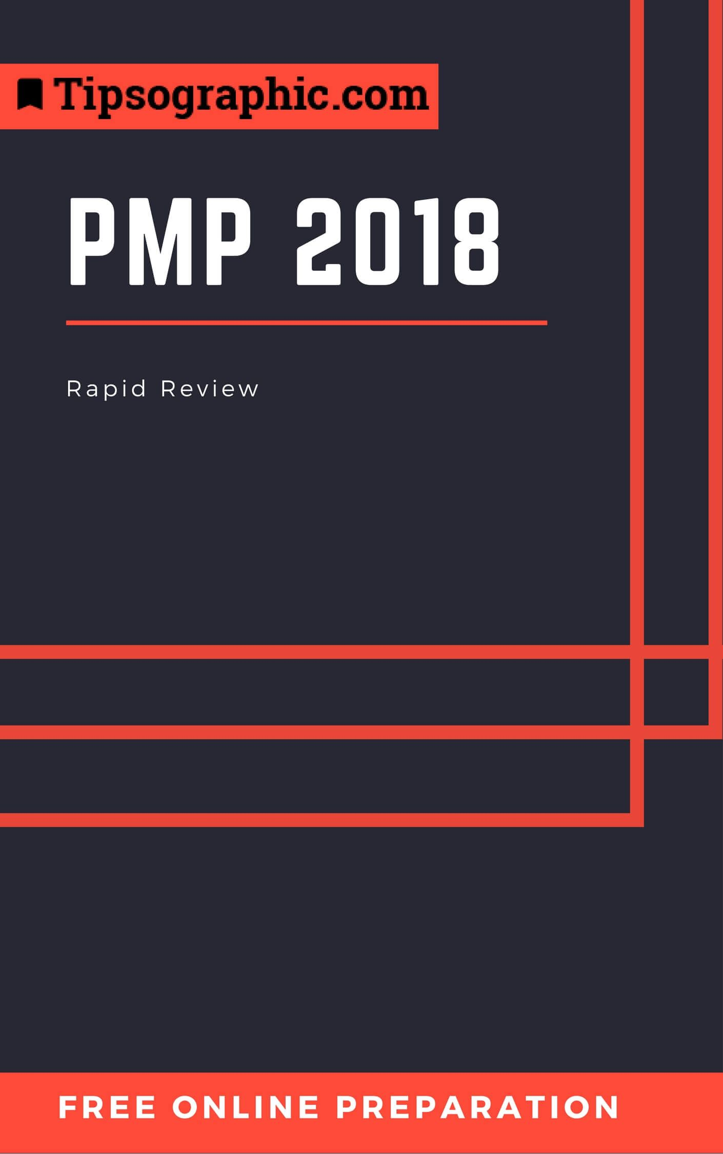 pmp 2018 rapid review free online preparation tipsographic