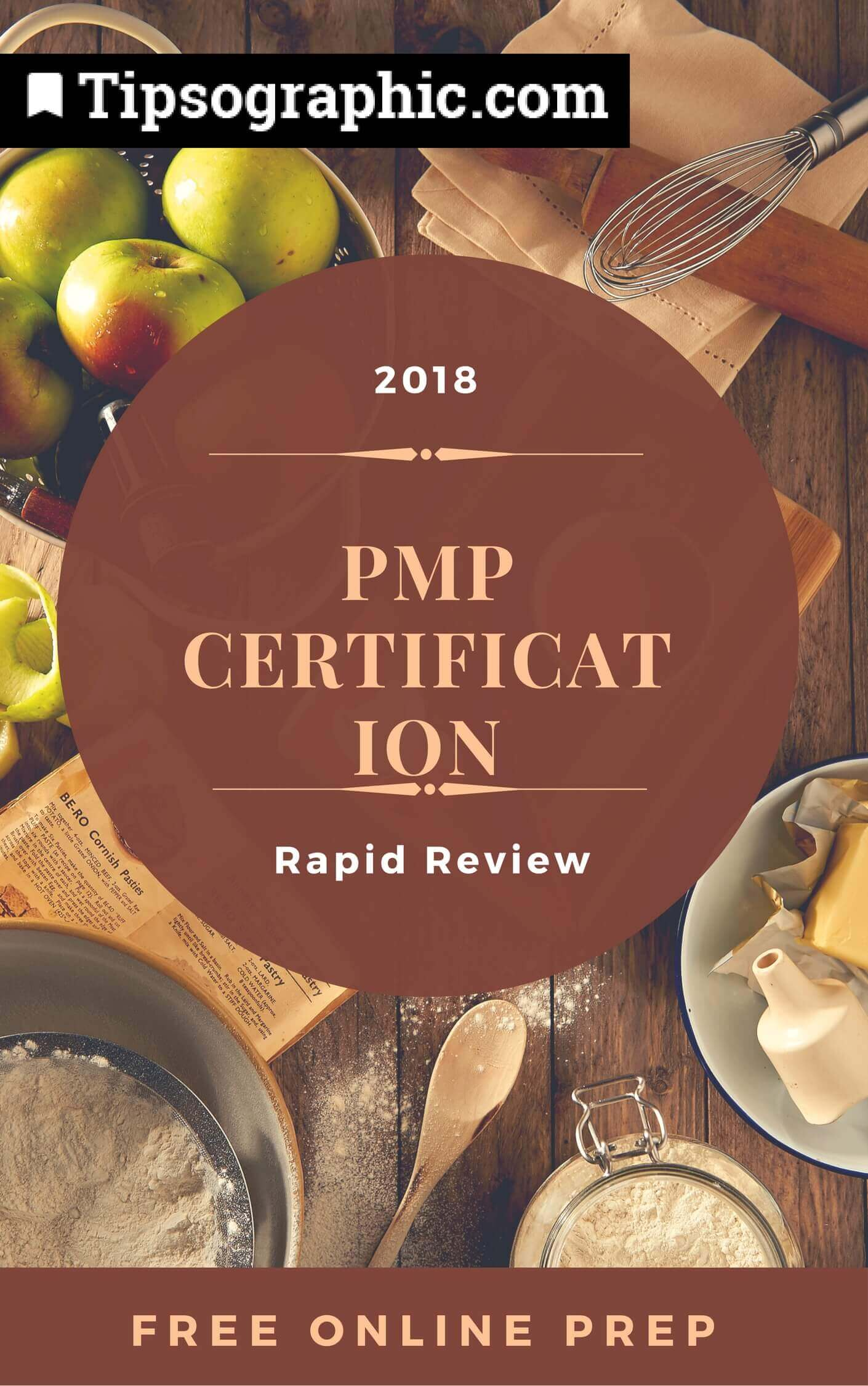 pmp certification 2018 rapid review free online prep tipsographic main