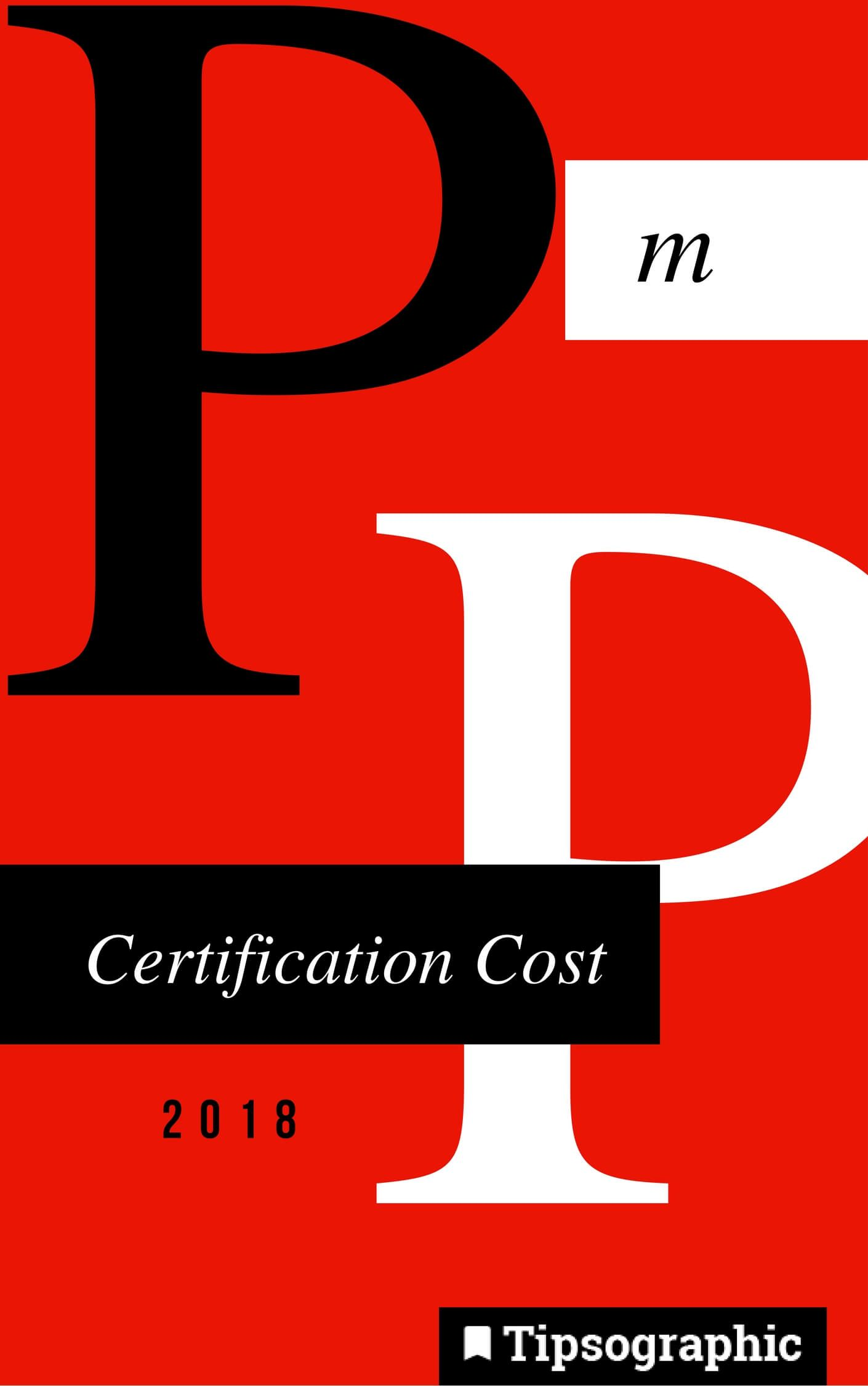 pmp certification cost 2018 tipsographic main