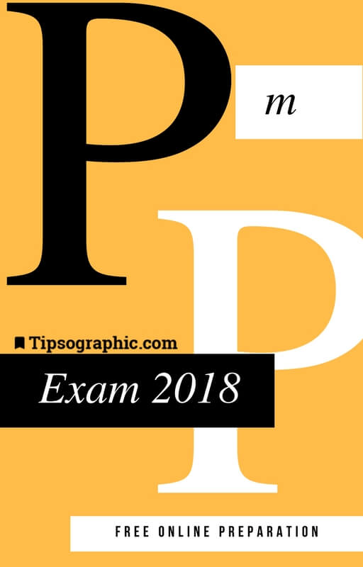 pmp exam 2018 study guide free online preparation tipsographic