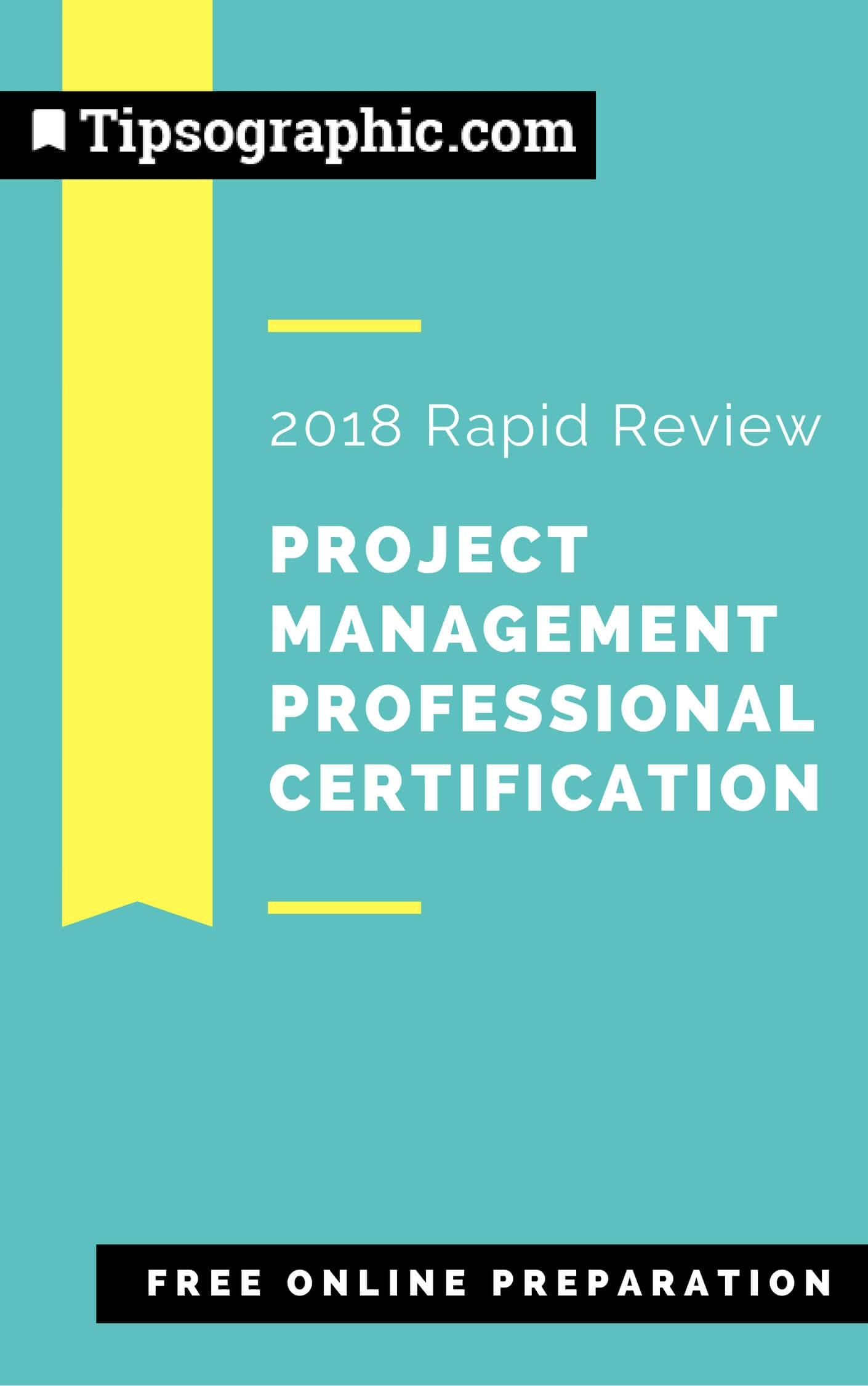 project management professional certification 2018 rapid review free online preparation tipsographic