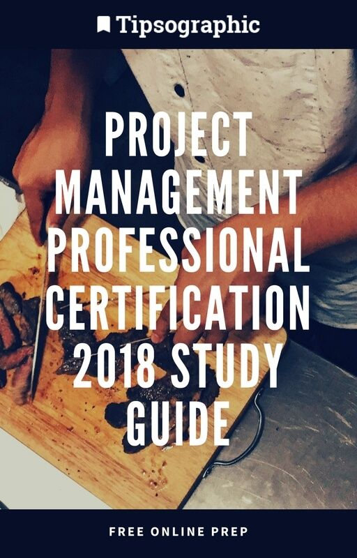 project management professional certification 2018 study guide free online prep tipsographic