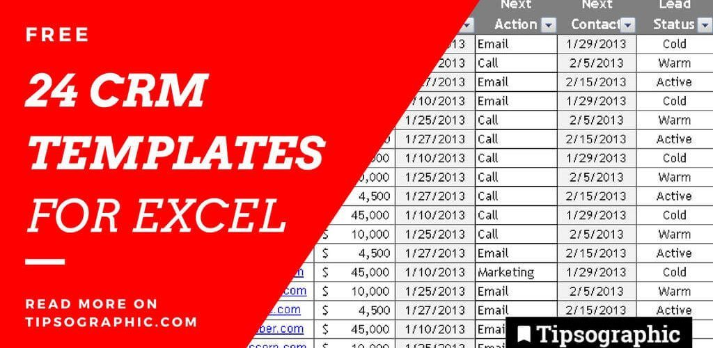 24 epic free crm excel templates free tipsographic main