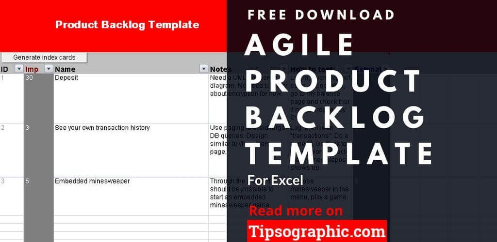 agile product backlog template excel agile product backlog excel template free tipsographic thumb
