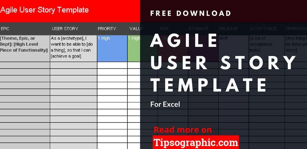 agile user story template excel agile user story excel template free tipsographic thumb
