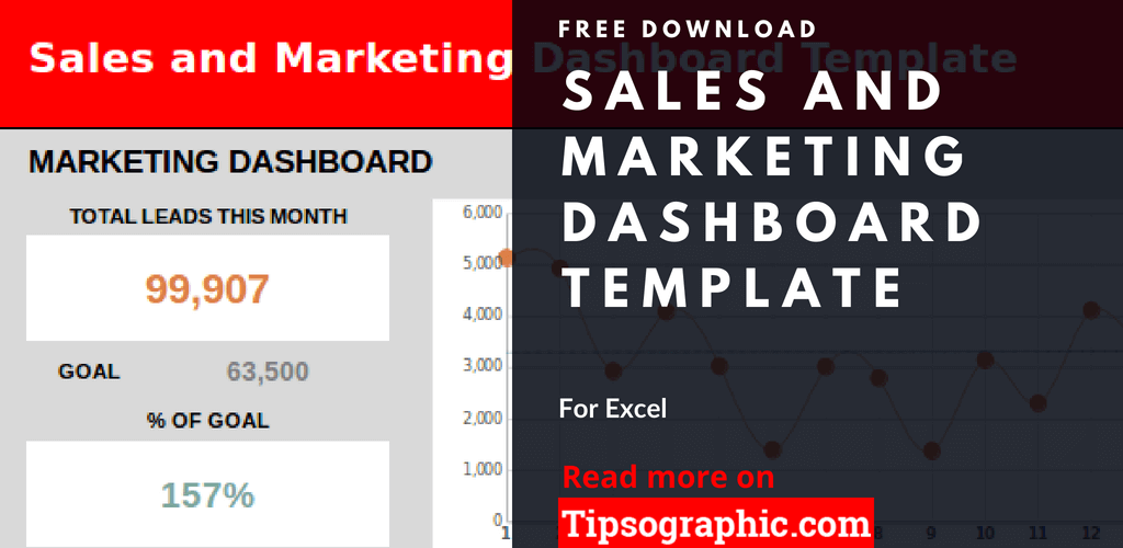 crm marketing dashboard template excel sales and marketing dashboard excel free tipsographic thumb