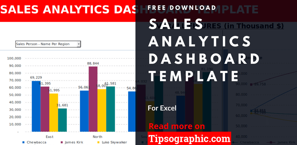 crm sales analytics dashboard template excel sales analytics dashboard excel free tipsographic thumb