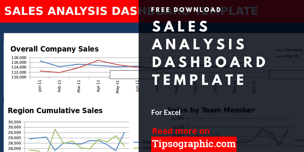 crm sales dashboard template excel sales analysis dashboard excel template free tipsographic thumb