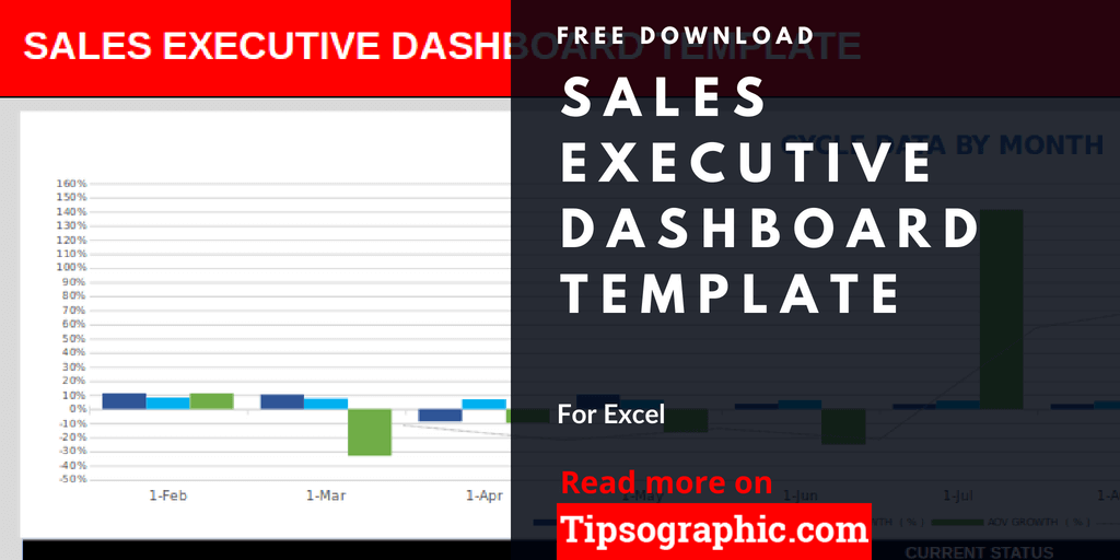 sales executive dashboard template for excel free download tipsographic. Black Bedroom Furniture Sets. Home Design Ideas