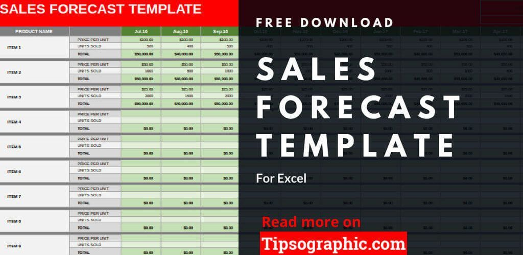 crm sales forecast template excel sales forecast excel template free tipsographic thumb