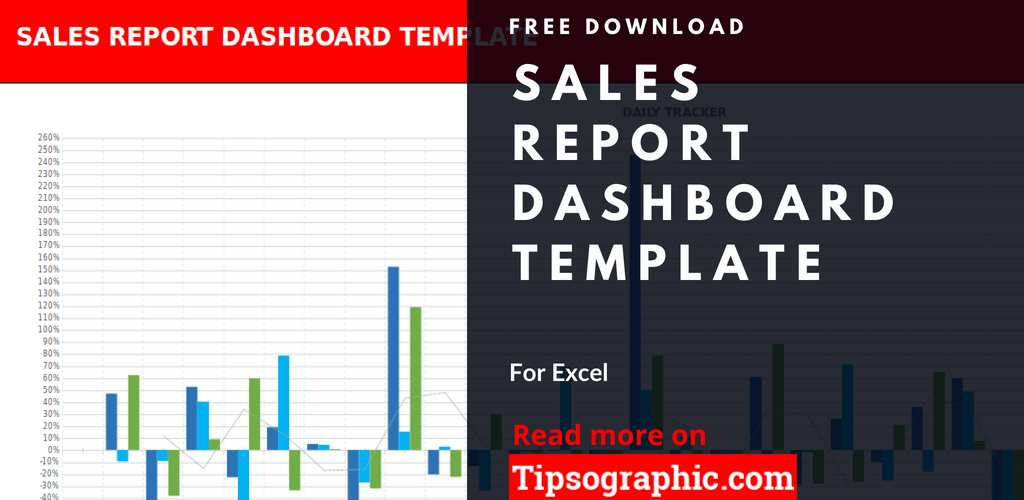 crm sales report dashboard template excel sales report dashboard excel template free download tipsographic thumb