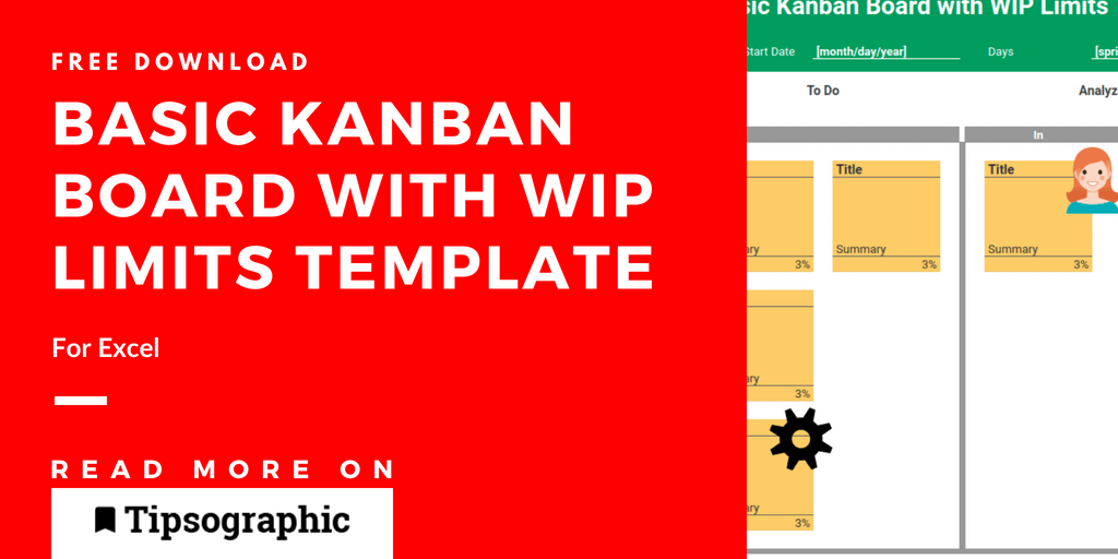 Kanban Board Template For Excel And Google Sheets Free