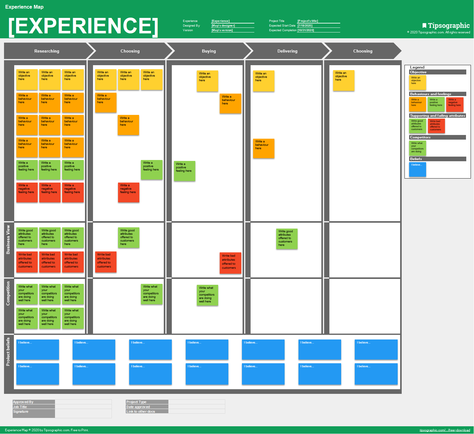 Download The Experience Map Tipsographic